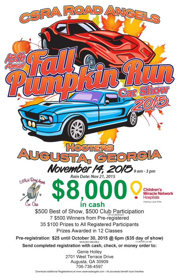 2013 Fall Pumpkin Run
